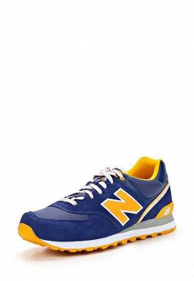 Кроссовки New Balance ML574 синий NE007AMATU29 Вьетнам  - купить со скидкой