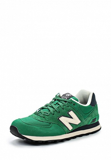 Кроссовки New Balance ML574 зеленый NE007AMDWX36 Вьетнам  - купить со скидкой