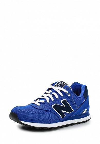 Кроссовки ML574 New Balance синий NE007AMDWX38 Вьетнам  - купить со скидкой