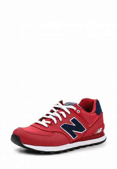Кроссовки New Balance ML574 красный NE007AMDWX41 Вьетнам  - купить со скидкой