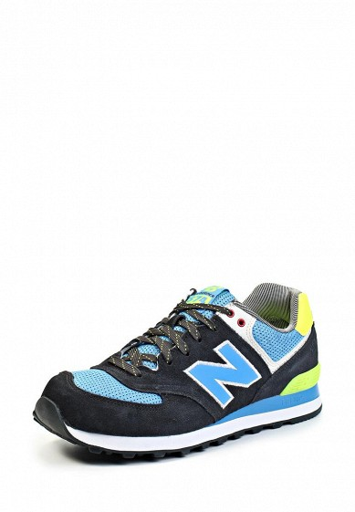 Кроссовки New Balance ML574 синий NE007AMGH133  - купить со скидкой