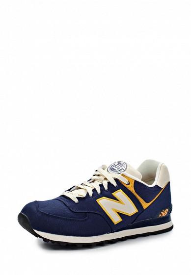 Кроссовки New Balance ML574 синий NE007AMJA769 Китай  - купить со скидкой
