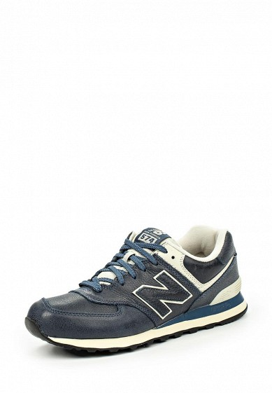 Кроссовки ML574 New Balance синий NE007AUJKW60  - купить со скидкой