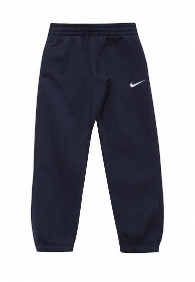 Купить Брюки спортивные Nike B NK PANT N45 CORE BF CUFF синий NI464EBUFH66 Камбоджа