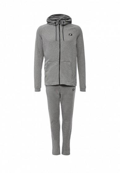 Купить Костюм спортивный Nike M NSW MODERN TRK SUIT FT серый NI464EMJFQ28 Китай