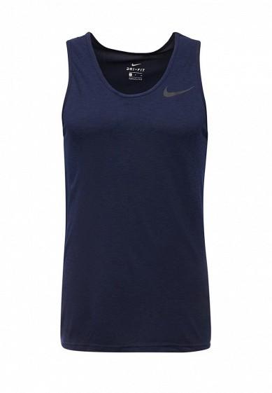 Купить Майка спортивная Nike M NK BRT TANK HPR DRY синий NI464EMUGM06 Индия