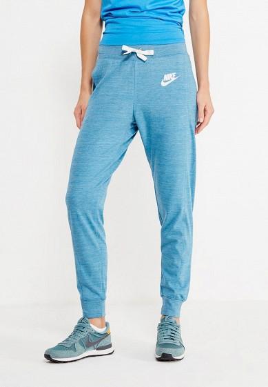 Купить Брюки спортивные Nike W NSW GYM CLC PANT голубой NI464EWUHH59 Камбоджа