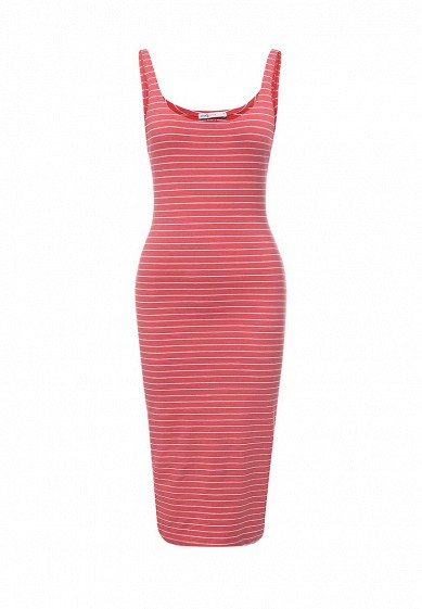 Платье oodji красный OO001EWSXC75  - купить со скидкой