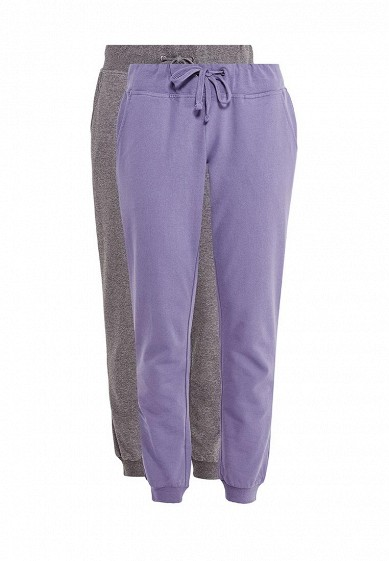 Купить Комплект брюк 2 шт. oodji серый, фиолетовый OO001EWXZS72 Узбекистан