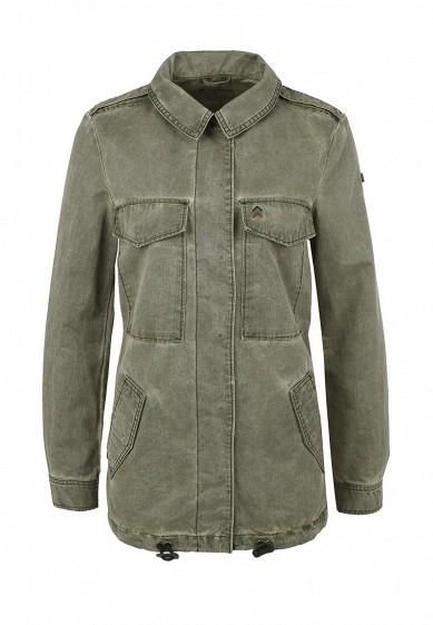 Куртка Q/S designed by хаки QS006EWMEV37  - купить со скидкой