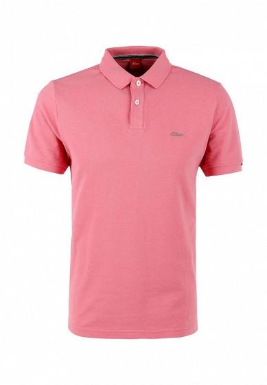 Поло розовый SO917EMQKS20 Индонезия  - купить со скидкой