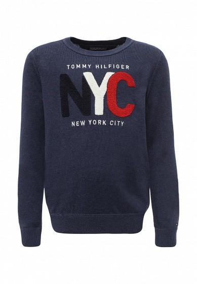 Купить Джемпер Tommy Hilfiger синий TO263EBYBY49 Китай