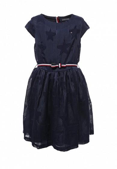 Купить Платье Tommy Hilfiger синий TO263EGYBY61 Индия