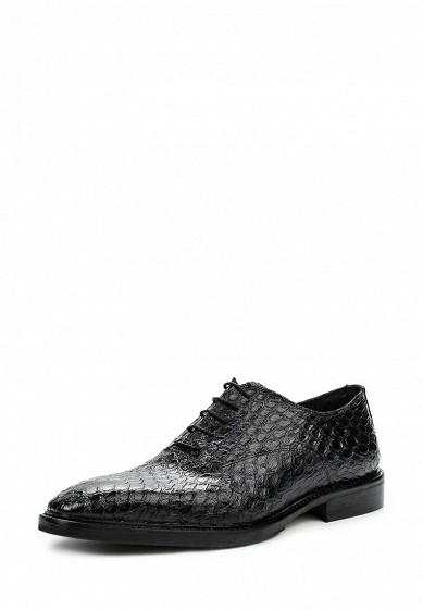 Туфли Uominitaliani черный UO002AMNYL37 Италия  - купить со скидкой