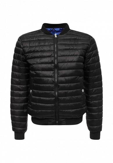 Куртка утепленная Versace Jeans синий, черный VE006EMUBH89 Китай  - купить со скидкой