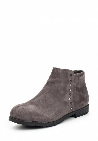 Купить Ботинки Vera Blum серый VE028AWXKP79 Китай
