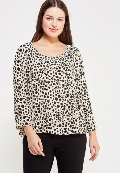 Купить Блуза Violeta by Mango - LEOPA бежевый VI005EWXUJ27 Индия