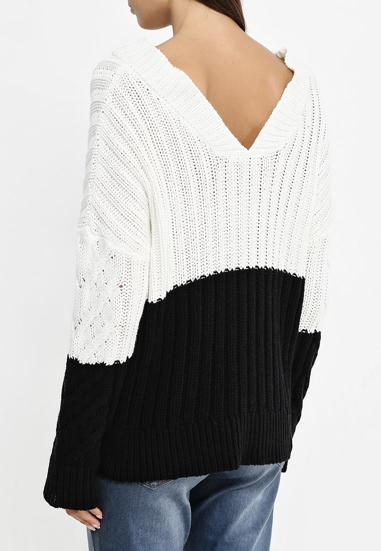 Черно Белый Джемпер С Доставкой