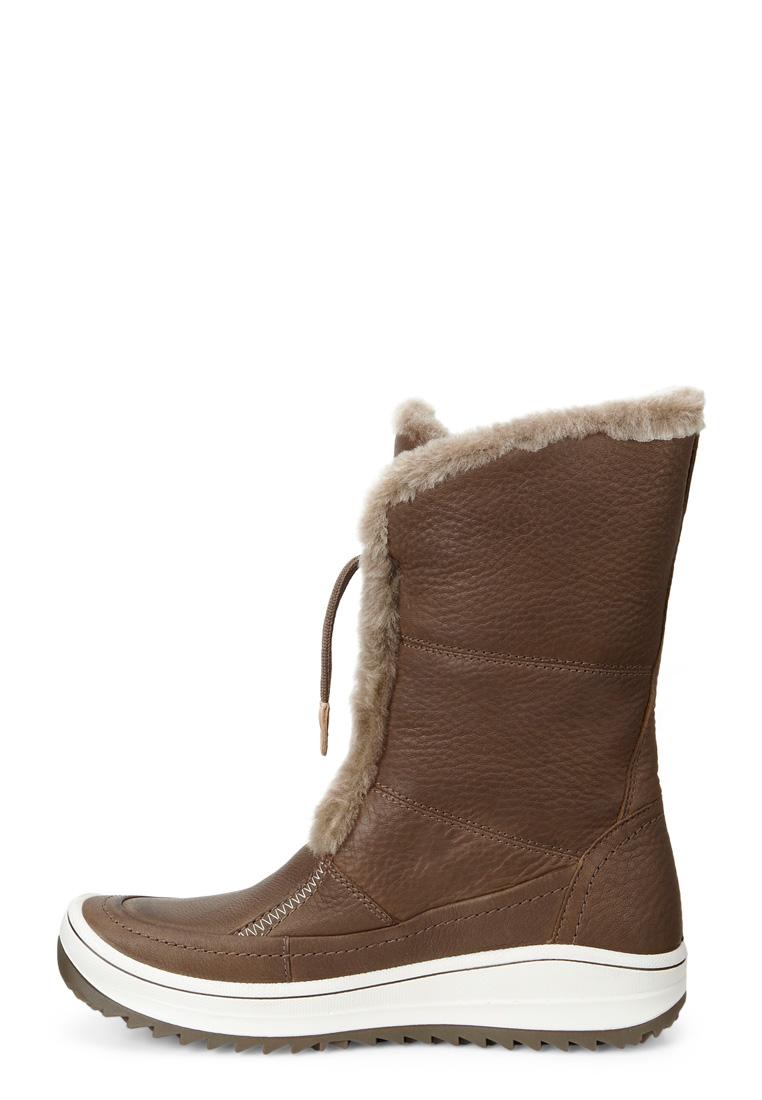 Ботинки экко женские зимние