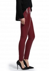 Брюки LOST INKPU & PONTE SKINNY TROUSERS WITH ZIP DETAIL