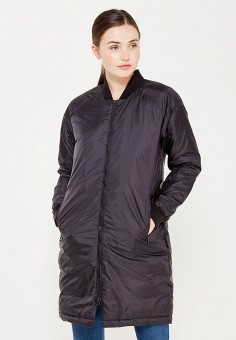 Пуховик, adidas Performance, цвет: черный. Артикул: AD094EWUOG66. Женская одежда / Верхняя одежда / Пуховики и зимние куртки