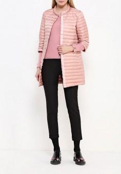 Пуховик, Add, цвет: розовый. Артикул: AD504EWQIP30. Женская одежда / Верхняя одежда / Пуховики и зимние куртки