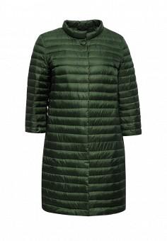Пуховик, Add, цвет: зеленый. Артикул: AD504EWQIP34. Женская одежда / Верхняя одежда / Пуховики и зимние куртки