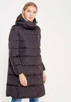 Пуховик, Add, цвет: черный. Артикул: AD504EWTCZ48. Премиум / Одежда / Верхняя одежда / Пуховики и зимние куртки