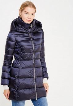Пуховик, Add, цвет: синий. Артикул: AD504EWTCZ61. Премиум / Одежда / Верхняя одежда / Пуховики и зимние куртки