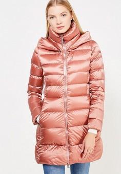 Пуховик, Add, цвет: розовый. Артикул: AD504EWTCZ62. Женская одежда / Верхняя одежда / Пуховики и зимние куртки