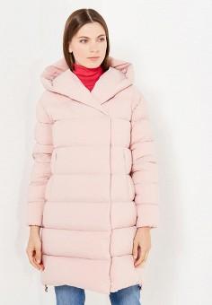 Пуховик, Add, цвет: розовый. Артикул: AD504EWTCZ65. Премиум / Одежда / Верхняя одежда / Пуховики и зимние куртки