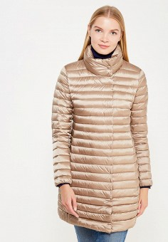 Пуховик, Add, цвет: бежевый. Артикул: AD504EWTCZ79. Женская одежда / Верхняя одежда / Пуховики и зимние куртки