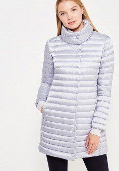 Пуховик, Add, цвет: голубой. Артикул: AD504EWTCZ81. Женская одежда / Верхняя одежда / Пуховики и зимние куртки