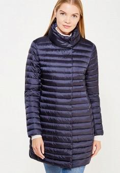 Пуховик, Add, цвет: синий. Артикул: AD504EWTCZ83. Женская одежда / Верхняя одежда / Пуховики и зимние куртки