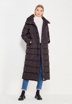 Пуховик, Add, цвет: черный. Артикул: AD504EWTCZ86. Премиум / Одежда / Верхняя одежда / Пуховики и зимние куртки