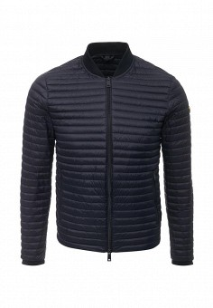 Пуховик, Armani Jeans, цвет: синий. Артикул: AR411EMTXV86. Премиум / Одежда / Верхняя одежда / Пуховики
