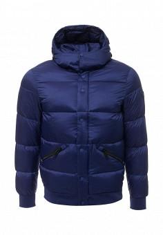 Пуховик, Armani Jeans, цвет: синий. Артикул: AR411EMTXV87. Премиум / Одежда / Верхняя одежда / Пуховики