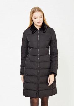 Пуховик, Armani Jeans, цвет: черный. Артикул: AR411EWTYA38. Премиум / Одежда / Верхняя одежда / Пуховики и зимние куртки