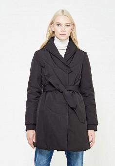 Куртка утепленная, Armani Jeans, цвет: черный. Артикул: AR411EWTYA48. Премиум / Одежда / Верхняя одежда / Пуховики и зимние куртки