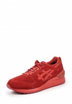 Кроссовки, ASICSTiger, цвет: бордовый. Артикул: AS009AUOUQ41. Женская обувь / Кроссовки и кеды