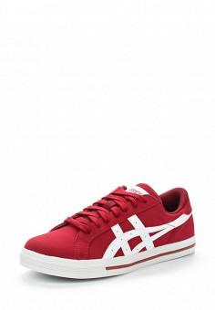 Кеды, ASICSTiger, цвет: красный. Артикул: AS009AUUMH28. Женская обувь / Кроссовки и кеды