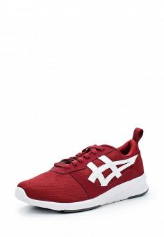 Кроссовки, ASICSTiger, цвет: бордовый. Артикул: AS009AUUMH33. Женская обувь / Кроссовки и кеды