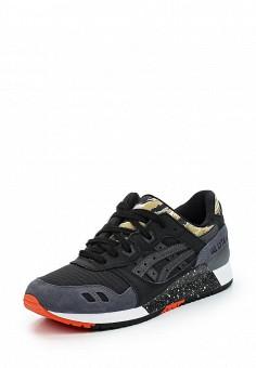 Кроссовки, ASICSTiger, цвет: черный. Артикул: AS009AUUMH43. Женская обувь / Кроссовки и кеды