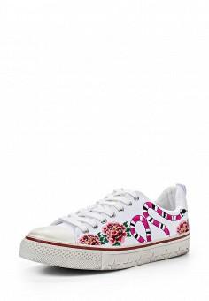 Кеды, Ash, цвет: белый. Артикул: AS069AWQUP44. Премиум / Обувь / Кроссовки и кеды