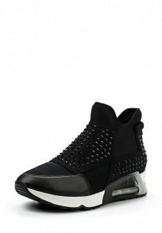 Кроссовки, Ash, цвет: черный. Артикул: AS069AWUIT70. Премиум / Обувь / Кроссовки и кеды