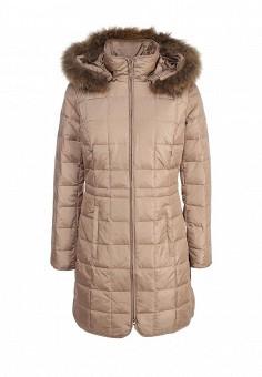 Пуховик, Baon, цвет: бежевый. Артикул: BA007EWFYE25. Женская одежда / Верхняя одежда / Пуховики и зимние куртки
