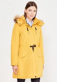 Парка, Baon, цвет: желтый. Артикул: BA007EWWAO83. Женская одежда / Верхняя одежда / Парки