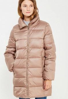 Пуховик, Baon, цвет: коричневый. Артикул: BA007EWWAQ08. Женская одежда / Верхняя одежда / Пуховики и зимние куртки