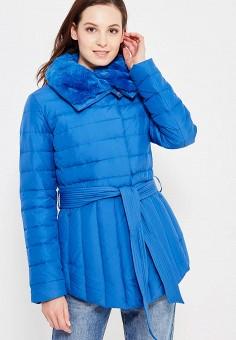Пуховик, Baon, цвет: синий. Артикул: BA007EWWAQ25. Женская одежда / Верхняя одежда / Пуховики и зимние куртки