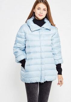 Пуховик, Baon, цвет: голубой. Артикул: BA007EWWAQ27. Женская одежда / Верхняя одежда / Пуховики и зимние куртки